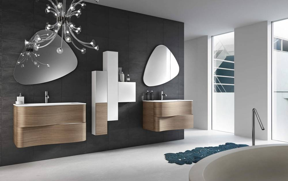 Meubles de salle de bain design beautiful ensemble de for Meuble salle de bain design